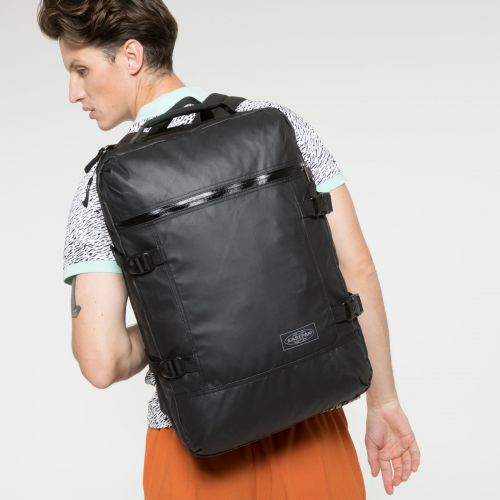 Tranzpack Topped Black Backpacks by Eastpak - view 2