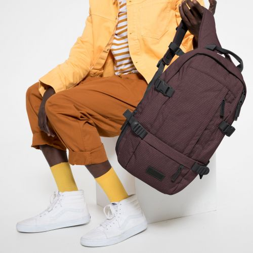 Floid CS Melange Print Lines Backpacks by Eastpak - view 5