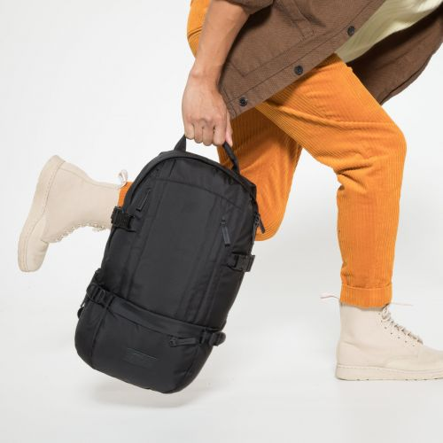 Floid Constructed Mono Black Backpacks by Eastpak - view 5