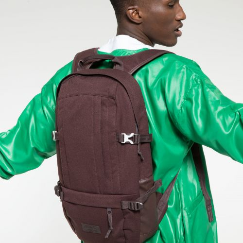 Floid Accent Brown Backpacks by Eastpak - view 5
