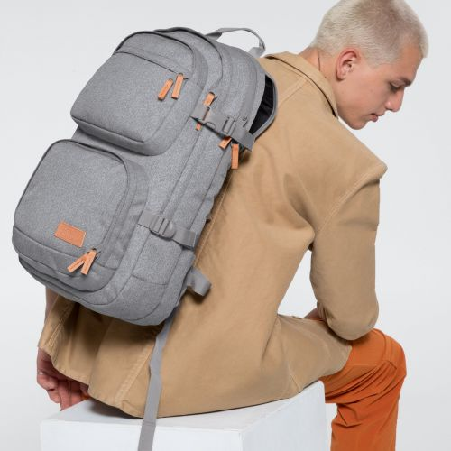 Hutson Sunday Grey Backpacks by Eastpak - view 5