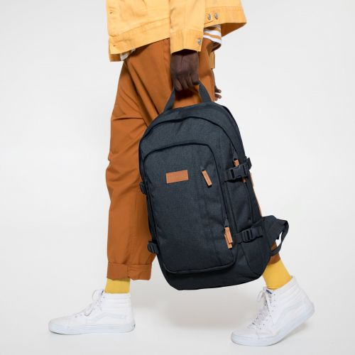 Evanz CS Triple Denim Backpacks by Eastpak - view 5