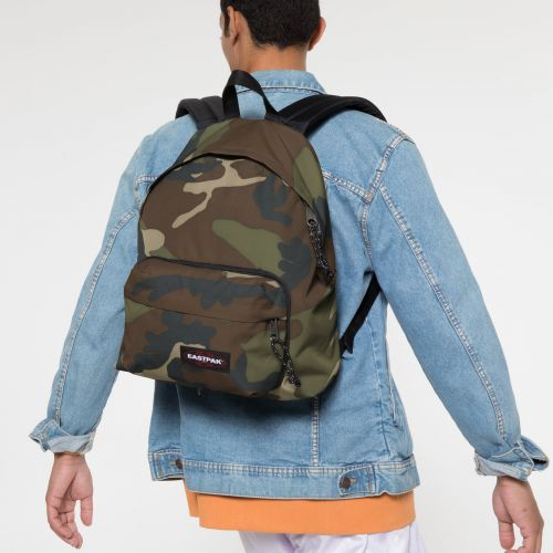 Padded Travell'r Camo Backpacks by Eastpak - view 5