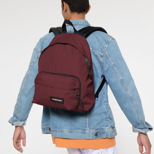 Padded Travell'r Crafty Wine Backpacks by Eastpak - Front view