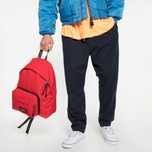 Padded Travell'r Bold Webbed Backpacks by Eastpak - view 5