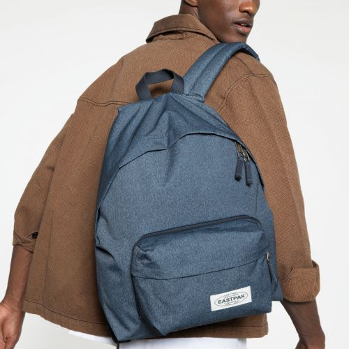 Padded Travell'r Muted Blue Backpacks by Eastpak - view 5