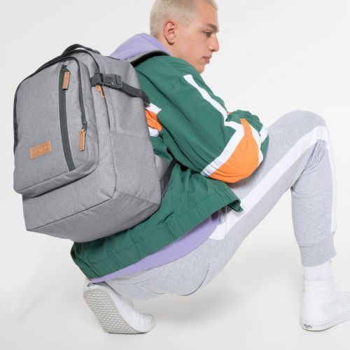 Smallker Sunday Grey Backpacks by Eastpak - view 5