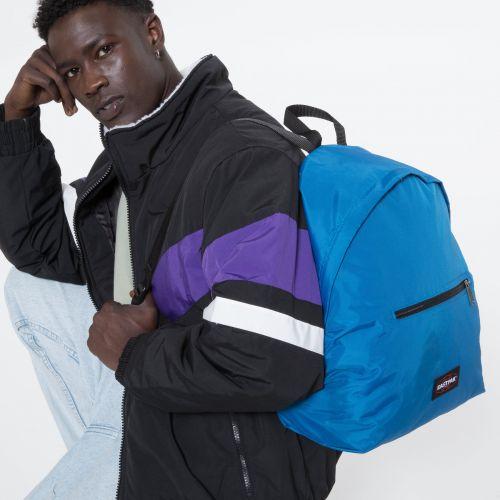 Padded Instant Blue Backpacks by Eastpak - view 5