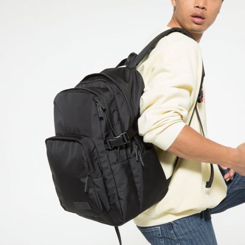 Provider Constructed Mono Black Backpacks by Eastpak - view 5