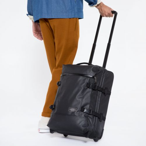 Tranverz S Topped Black Luggage by Eastpak - view 5