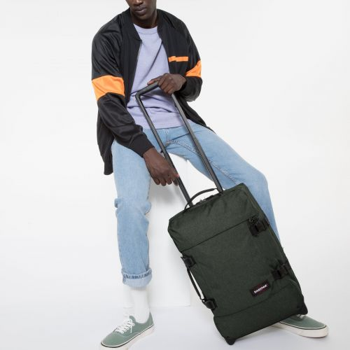 Tranverz S Crafty Moss Luggage by Eastpak - Front view