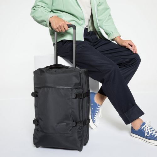 Tranverz S Constructed Mono Black Luggage by Eastpak - view 5