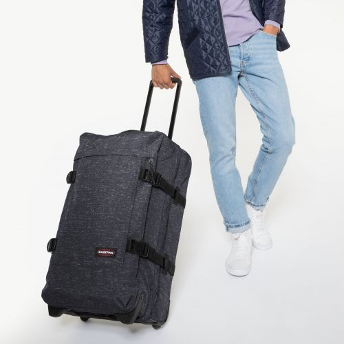 Tranverz M Melange Print Dot Luggage by Eastpak - view 5