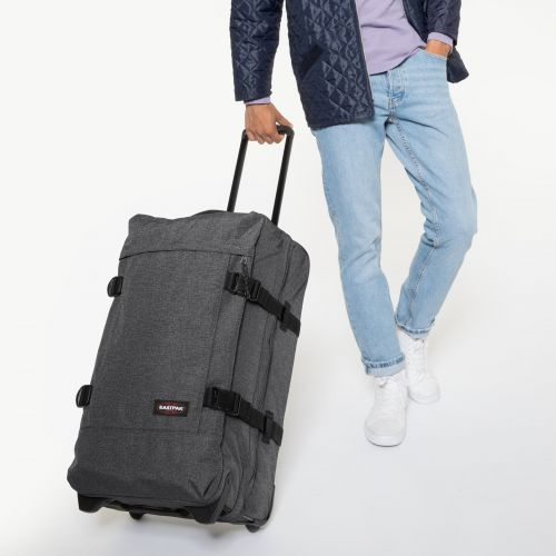 Tranverz M Black Denim Luggage by Eastpak - view 5