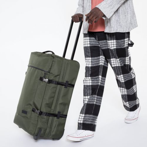 Tranverz M Constructed Khaki Luggage by Eastpak - view 5