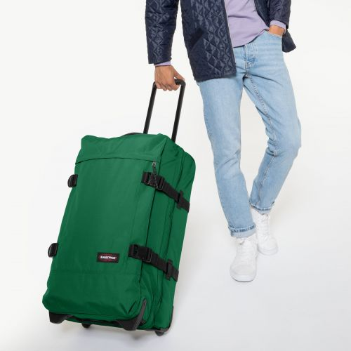Tranverz M Tortoise Green Luggage by Eastpak - view 5