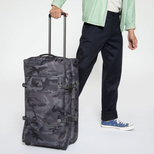 Tranverz M Constructed Mono Camo Luggage by Eastpak - view 5