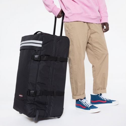 Tranverz L Reflective Black Luggage by Eastpak - view 5