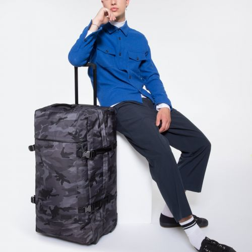 Tranverz L Constructed Camo Luggage by Eastpak - view 5