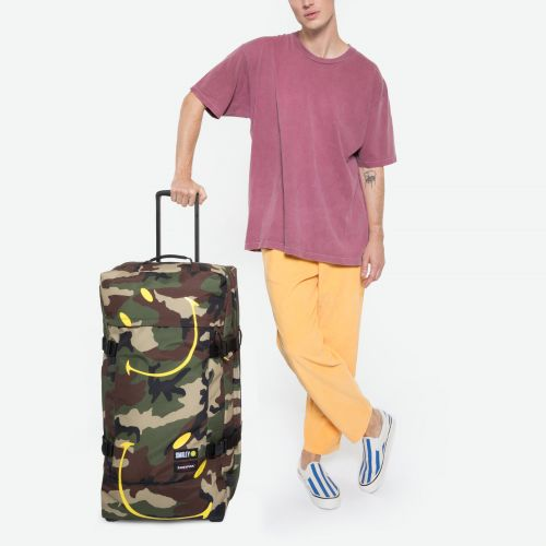 Tranverz L Smiley Camo Luggage by Eastpak - view 5