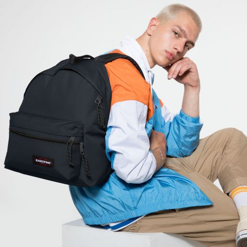 Padded Zippl'r Cloud Navy Backpacks by Eastpak - view 5