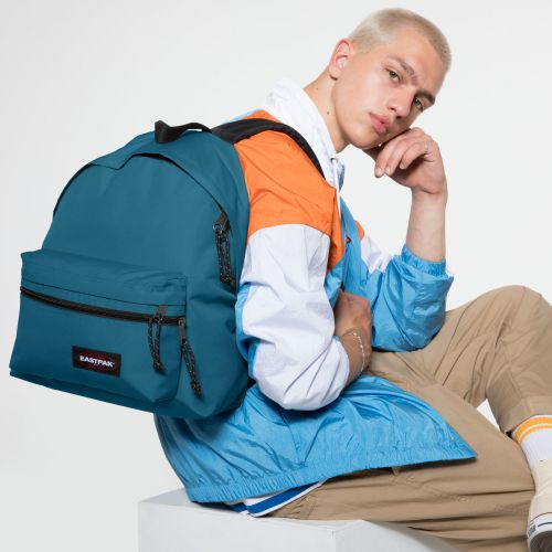 Padded Zippl'r Horizon Blue Backpacks by Eastpak - view 5