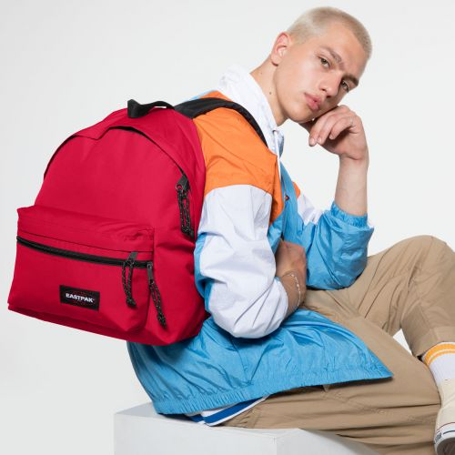 Padded Zippl'r Sailor Red Backpacks by Eastpak - view 5