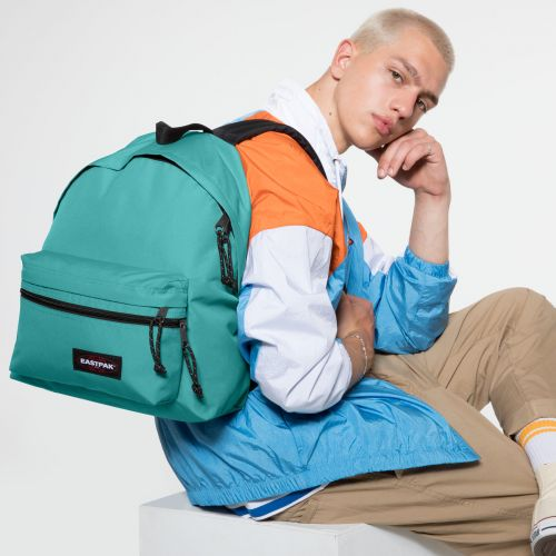 Padded Zippl'r Lagoon Blue Backpacks by Eastpak - view 5