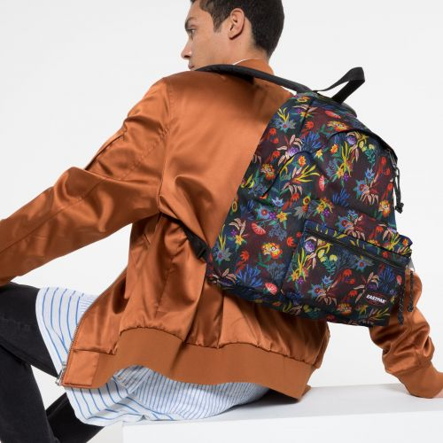Padded Zippl'r Trippy Blue Backpacks by Eastpak - view 5
