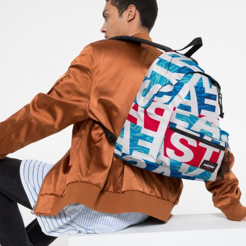Padded Zippl'r Bold Wavy Backpacks by Eastpak - view 5