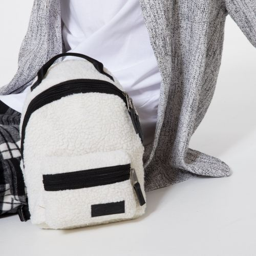 Orbit W Shear Beige Backpacks by Eastpak - view 5