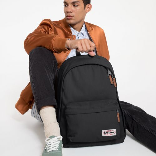 Out Of Office Opgrade Black Backpacks by Eastpak - view 5