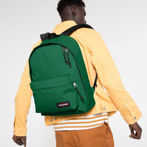 Out Of Office Tortoise Green Backpacks by Eastpak - view 5