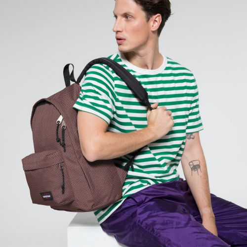 Out Of Office Meshknit Pink Backpacks by Eastpak - view 5