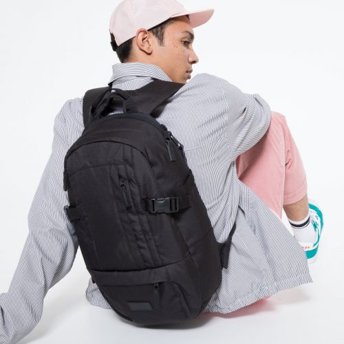 Wyson Black Backpacks by Eastpak - view 5