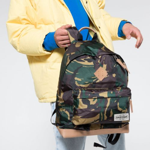 Wyoming Into Camo Backpacks by Eastpak - view 5