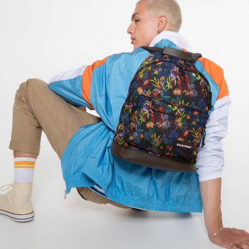 Wyoming Trippy Blue Backpacks by Eastpak - view 5