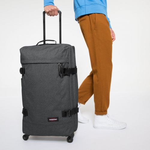 Trans4 M Black Denim Luggage by Eastpak - view 5