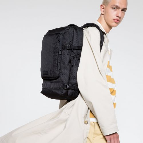 Tecum L CNNCT Black Backpacks by Eastpak - view 5