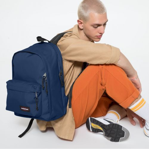 Back To Work Gulf Blue Backpacks by Eastpak - view 5
