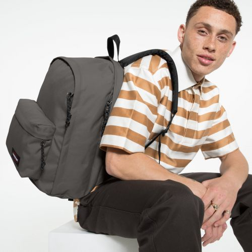 Back To Work Whale Grey Backpacks by Eastpak - view 5
