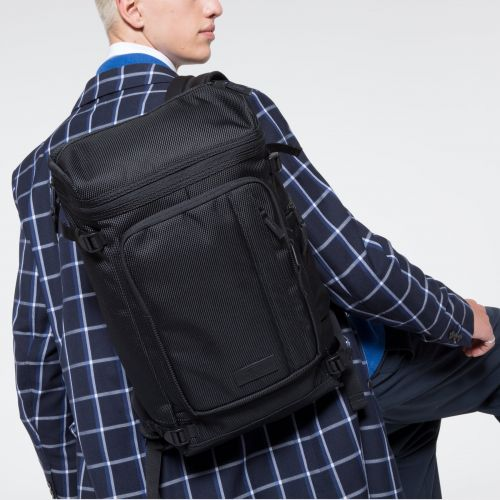 Tecum Top CNNCT Black Backpacks by Eastpak - view 5