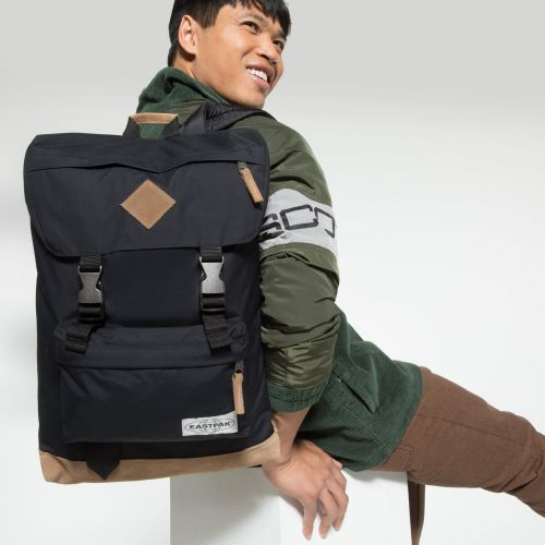 Rowlo Into Nylon Black Backpacks by Eastpak - view 5