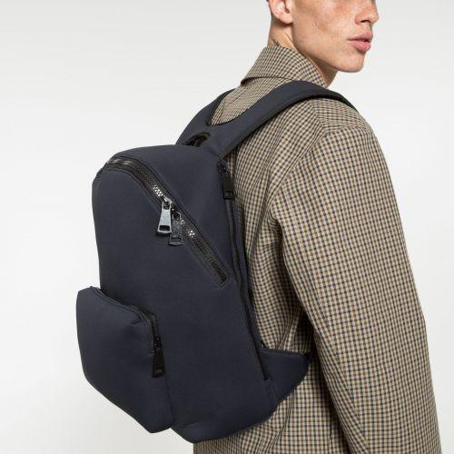 Padded Foamed Black Backpacks by Eastpak - view 5