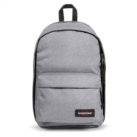Back To Work Sunday Grey Backpacks by Eastpak - Front view