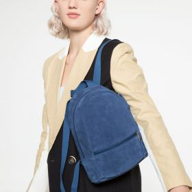 Lucia S Suede Gulf Backpacks by Eastpak - view 2