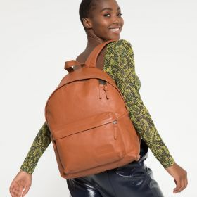 Padded Pak'r® Brandy Leather Backpacks by Eastpak - view 2