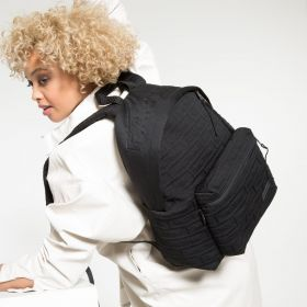 Padded Pak'r® Brandknit Black Backpacks by Eastpak - view 2
