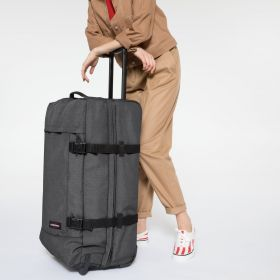 Tranverz L Black Denim Luggage by Eastpak - view 2