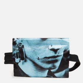 Raf Simons Poster Waistbag Cotton Boy White Accessories by Eastpak - Front view